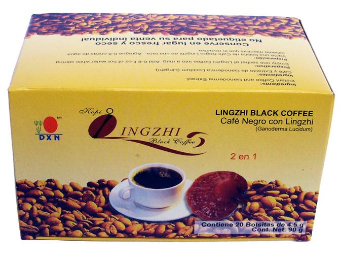 Lingzhi Café Negro 2 en 1 Para que Sirve y Como se Toma?