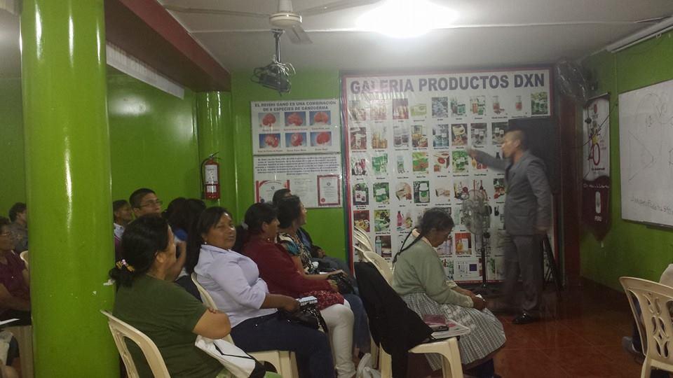 DXN Cuzco Perú En Full Capacitación