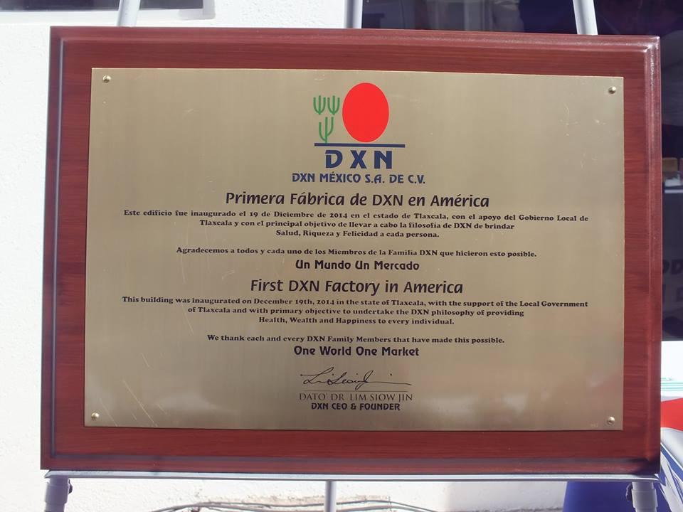 DXN Mexico Feliz Con Su Planta De Produccion