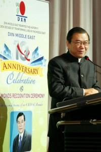 Dr Lim Reconociendo Líderes DXN (2)