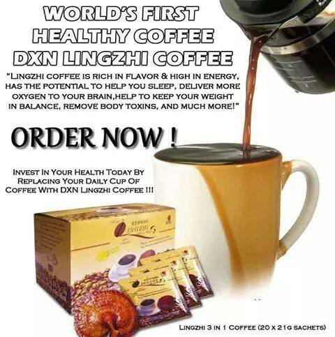 DXN International y El Primer Café Saludable Del Mundo