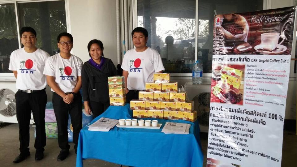 DXN Tailandia Sigue Fomentando Ganoderma Lucidum