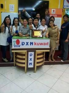 DXN Kuwait Promoviendo Ganoderma Lucidum Siempre (4)