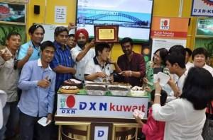 DXN Kuwait Promoviendo Ganoderma Lucidum Siempre (5)