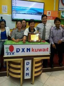 DXN Kuwait Promoviendo Ganoderma Lucidum Siempre (6)