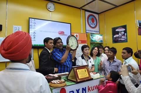 DXN Kuwait Promoviendo Ganoderma Lucidum Siempre