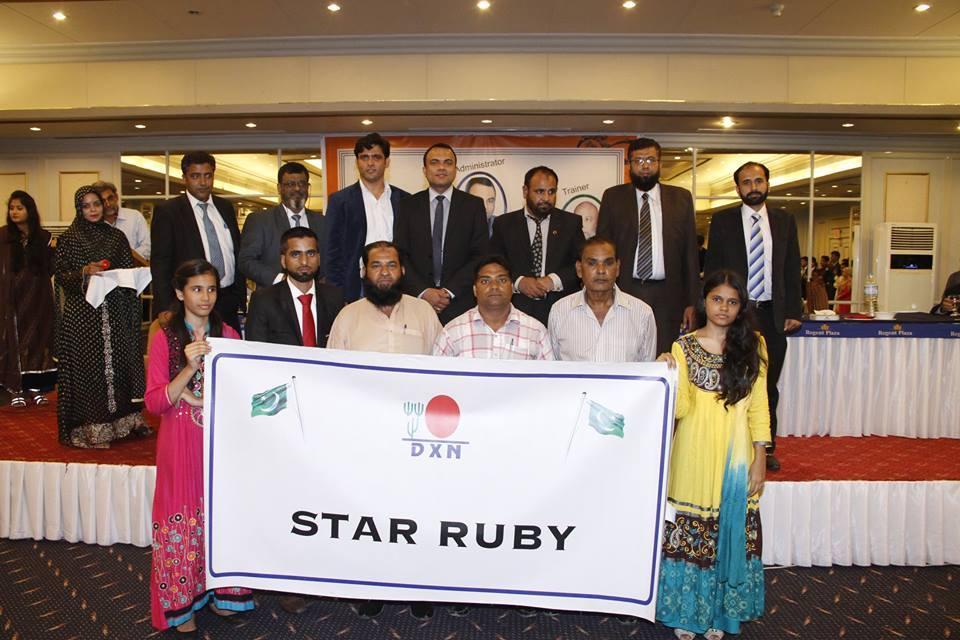 DXN Pakistan Reconociendo El Logro De Sus Asociados