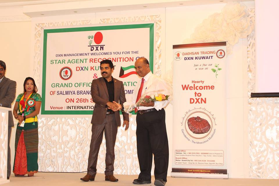 DXN International Siempre Promoviendo El Ganoderma Lucidum
