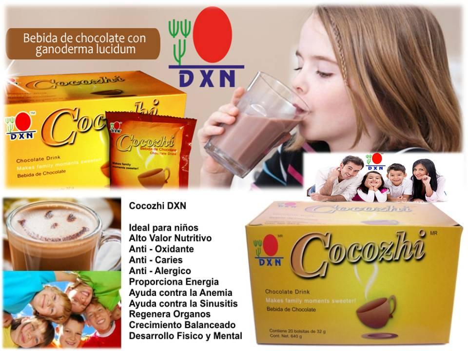 Cocozhi DXN Altísima Nutrición Sabor Chocolate