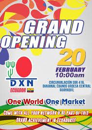 DXN Ecuador Confirmado Apertura Después De Mucha Espera (1)