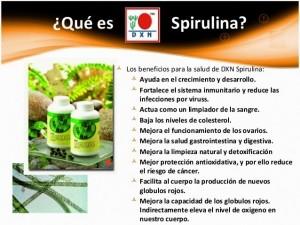 DXN Spirulina Para Qué Enfermedad Sirve (1)