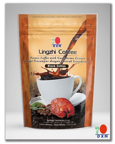 Lingzhi Black Coffee 2 en 1 nuevo