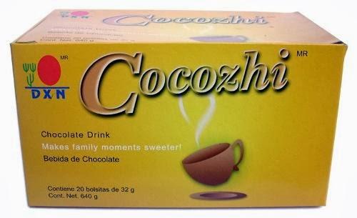 Cocozhi en caja de 20 sobres