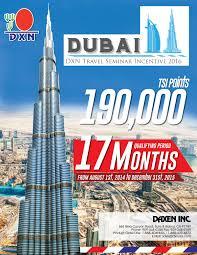 Incentivo DXN De Viaje Mundial