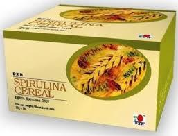 Spirulina DXN en cereal vainilla