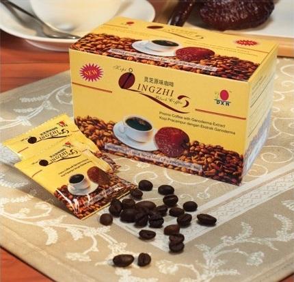 ganoderma lingzhi coffee negro
