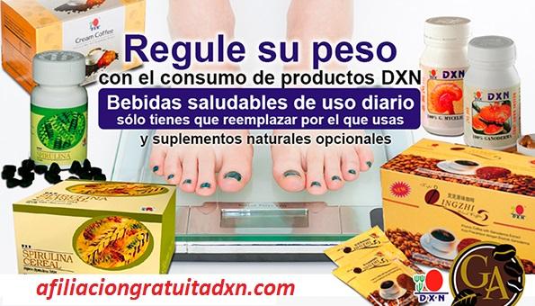 Suplementos DXN Controla Nuestro Peso