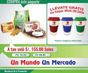 Vita Café DXN Producto Nuevo En Perú