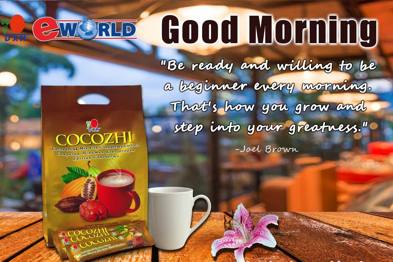 Cocozhi DXN Good Morning Everyday