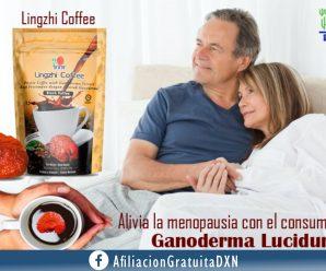 SÍNTOMAS DE LA MENOPAUSIA Y EL GANODERMA LUCIDUM DXN