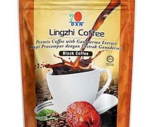Café negro Lingzhi 2en1 DXN, para qué es y cómo se toma.